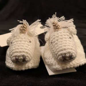 Unicorn Booties from Anthropologie